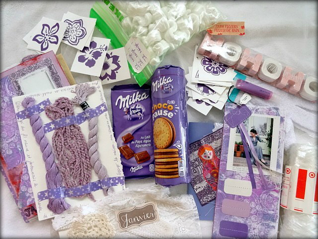 Happy mail janvier de Mme Pinat (1)