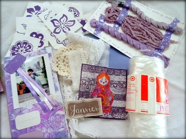 Happy mail janvier de Mme Pinat (3)