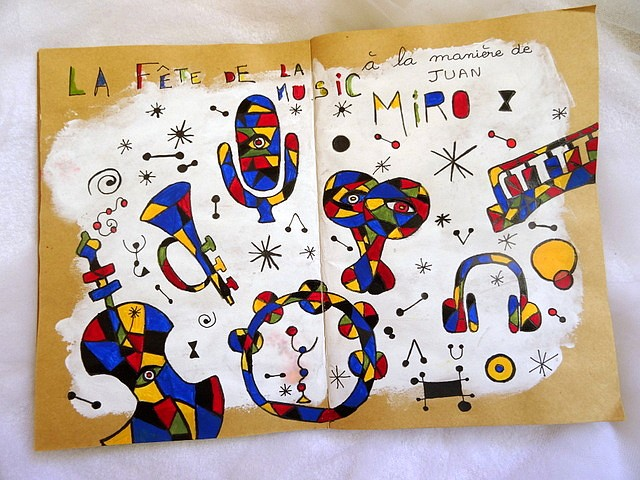S21 - Hommage à Juan Miro (1)