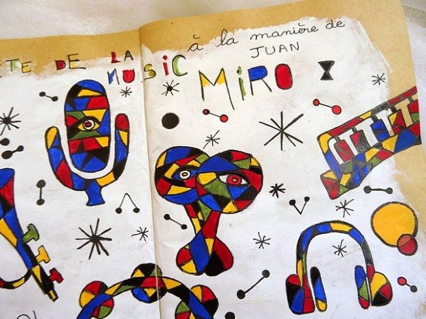 S21 - Hommage à Juan Miro (2)