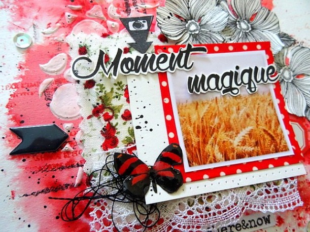 Moment magique - Challenge 5B - Tournoi Scrap Z'amies (2)