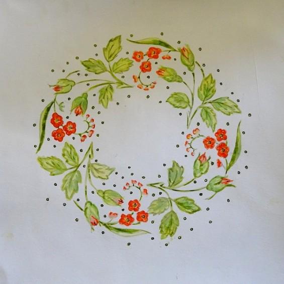 Together again - Challenge52RS - S216 - Couronne de fleurs (1)