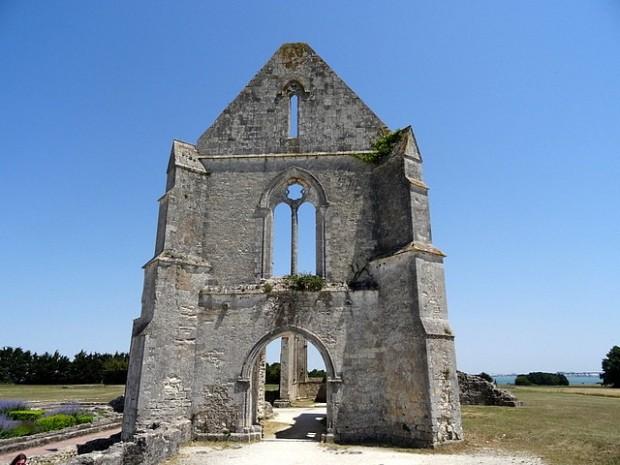 Abbaye de Châteliers - Ile de Ré - 30 juin 2015